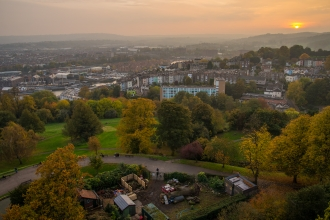 Bristol view from Brandon Hill